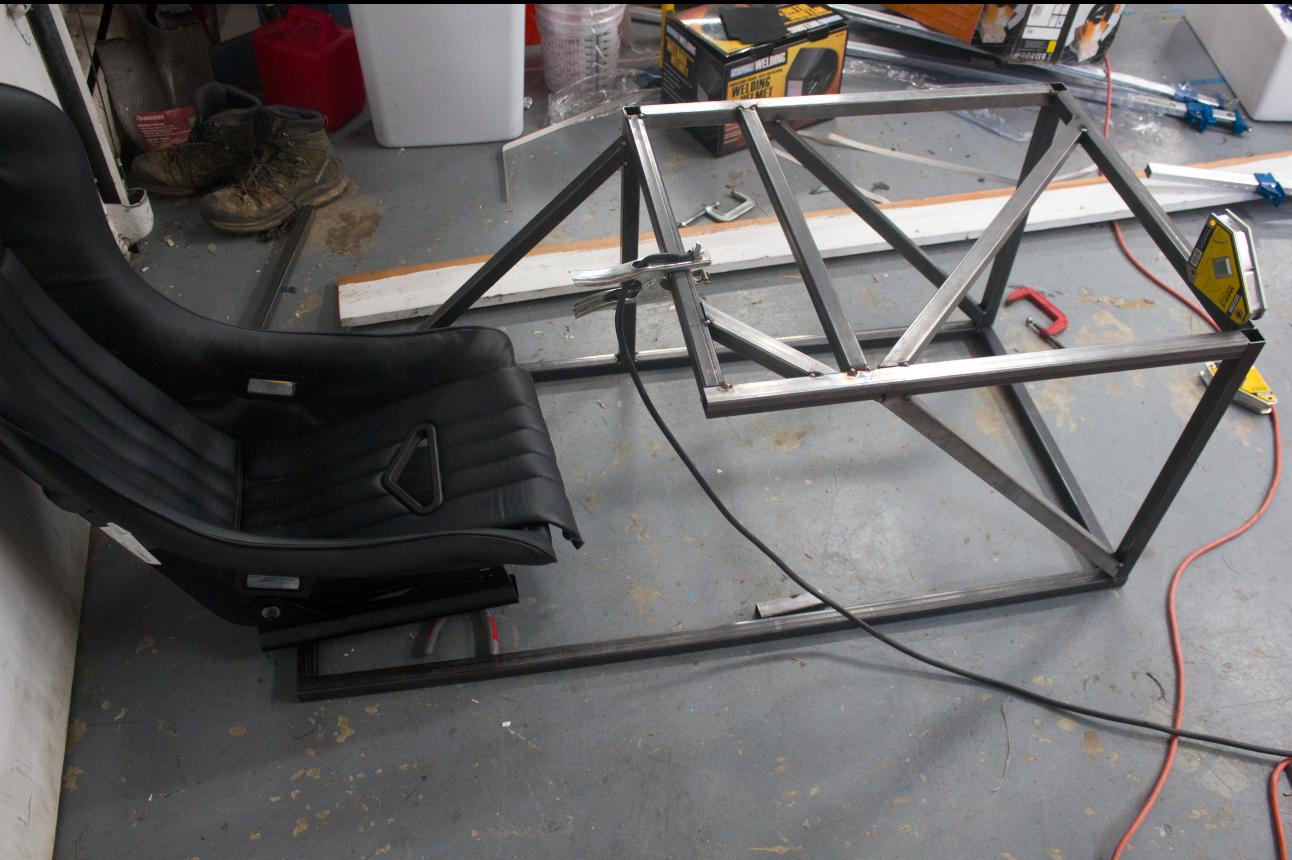Vr Racing Simulator Build Wrench Game
